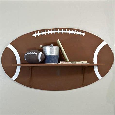 sports themed football shelf project by decoart