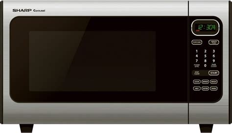 Sharp Healsio Cook 2 4 Liter 800 Watt Knh 24 Knh24 sharp r408ls 1 4 cu ft countertop microwave oven with 1 100 watts 23 automatic settings 5