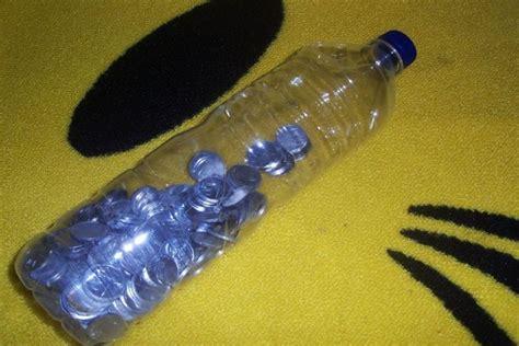 Botol Unik Transparan cara membuat celengan dari botol bekas air mineral uang