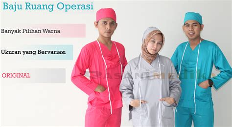Baju Pasien Baju Operasi Baju Rumah Sakit Murah Bahan Bagus 1 jual seragam oka harga murah rasani medika