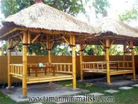 gambar desain rumah makan dari bambu inspirasi dekor rumah