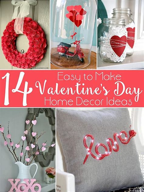 valentines home decor decoart blog crafts 14 valentine s day home decor ideas