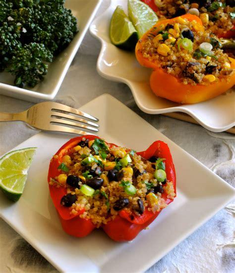healthy recipe southwestern stuffed peppers