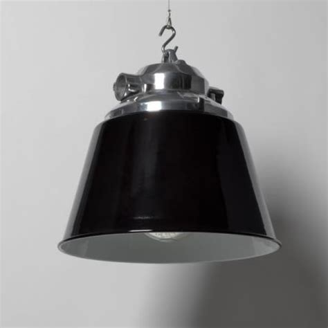 Luminaire Industriel 956 by Arms Factory Lights Early Model Black