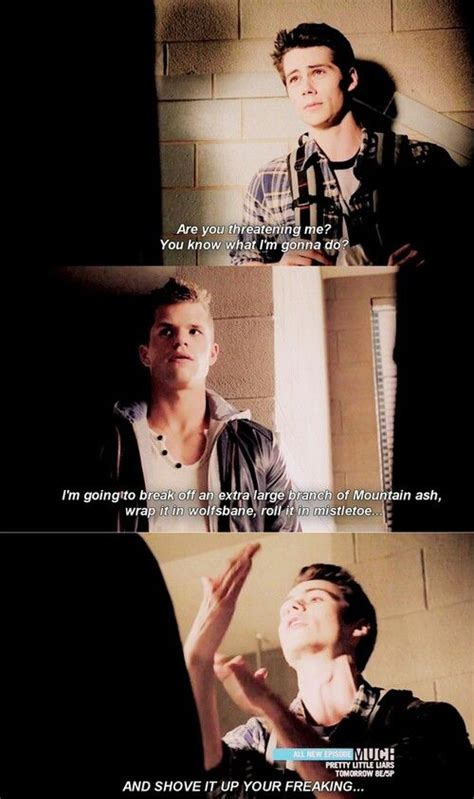 see the funniest moments from teen wolfs season 4 mtv funny quotes teen wolf quotesgram