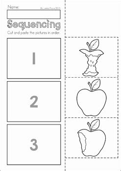 eating pattern quiz autumn fall preschool no prep worksheets activities