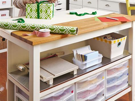 hgtv crafts craft and sewing room storage and organization hgtv