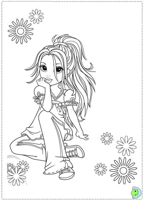 Sexy Vire Pin Up Coloring Coloring Pages Moxie Girlz Coloring Pages