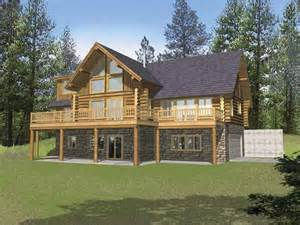 Log Home Basement Floor Plans by Eplans Chalet House Plan Three Bedroom Chalet 2513