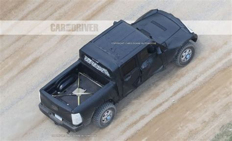 2018 jeep wrangler pickup 2018 jeep wrangler pickup spy photos news car and driver