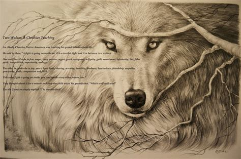 wolf cherokee by artibird on deviantart