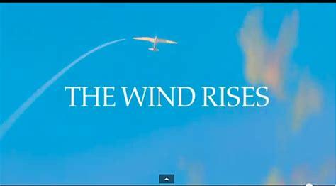 ghibli feature film ghibli feature film the wind rises japan style