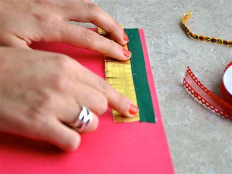 Felice Ribbon Top feliz navidad handmade card hgtv