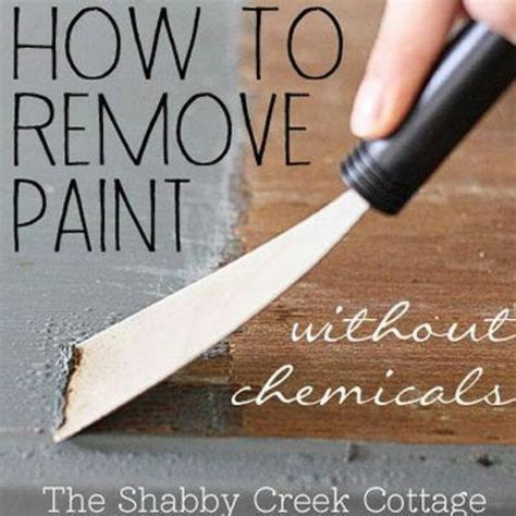 chalkboard paint remover remove paint without chemicals cleaning hints