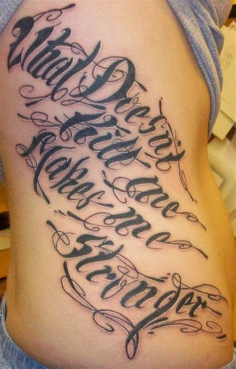 tattoo designs calligraphy the best lettering ideas