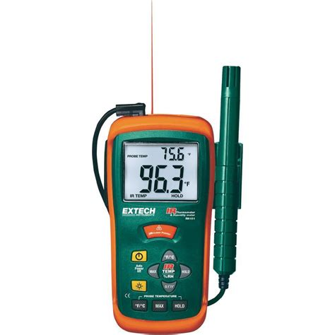 Jual Thermometer Hygrometer jual infrared thermometer hygrometer extech rh101 harga