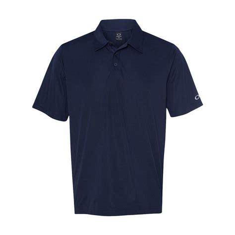 Kaos Polos Basic Navy oakley s navy blue solid basic polo