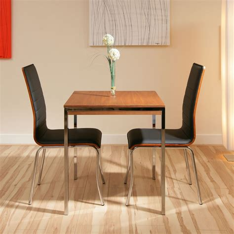 compact dining set for 2