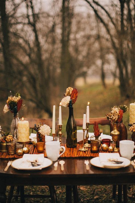 Pinterest Picks   Simple Thanksgiving Table Setting Ideas