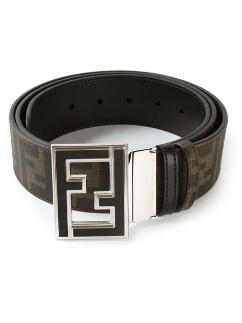 Ck Fendi Jour By Honshop fendi college belt in brown for lyst
