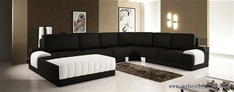 large modern sofa set classic black white sofas