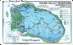 fishing map valley fishing guide map maps