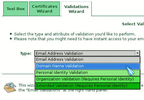 Domain Validation Online