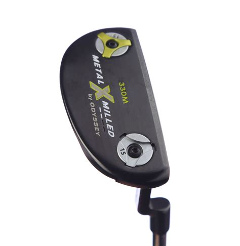 putter swing weight right hand odyssey metal x milled 330 mallet putter 34
