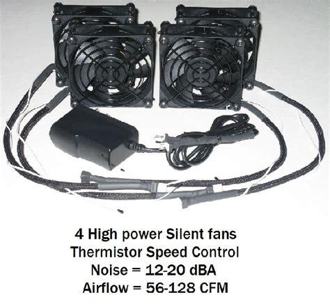 Av Closet Cooling by Fan Power Wire Length 24 Quot