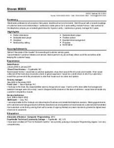 sales associate resume exle zara rockville maryland