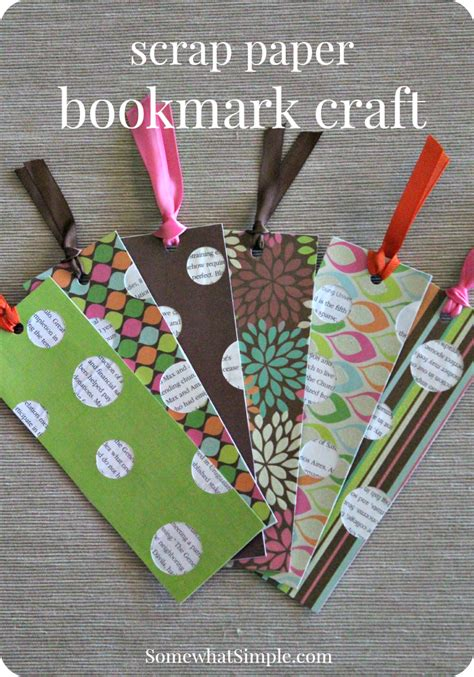 Paper Bookmarks - bookmark craft for a book review paper bookmarks