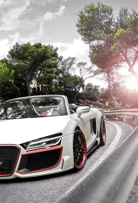 Audi R8 V10 Spyder Wallpaper for iPhone X, 8, 7, 6 Free Download on 3Wallpapers