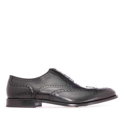 mens black leather oxford shoes mens oxford shoes in black leather alonai 179 90