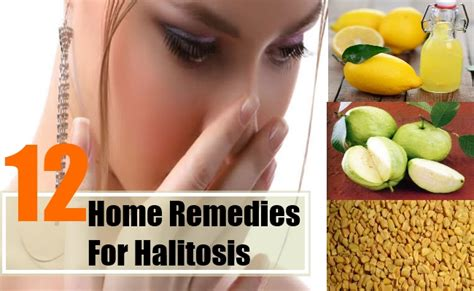 home remedies for bad breath treatment cure