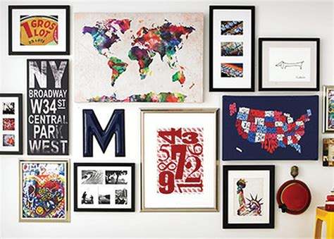 how to create a wall collage how to create a collage wall magic style shop
