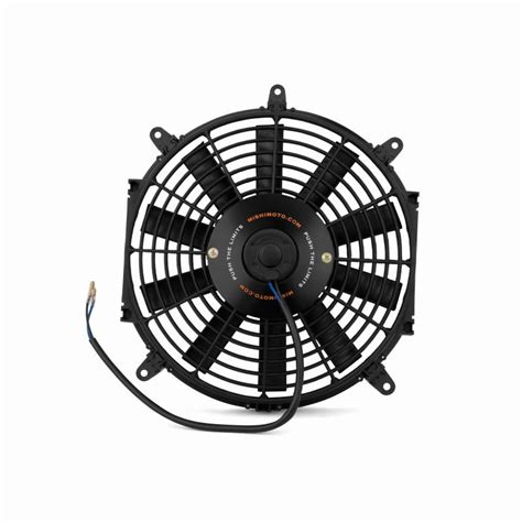 how to electric fan mishimoto slim electric fan 12