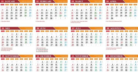layout kalender 2018 gratis download template kalender 2018 cdr kanglux