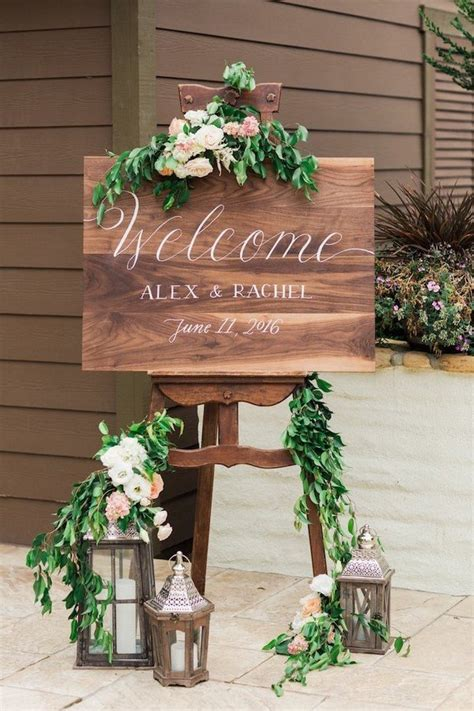 home decoration wedding ideas pinterest wedding 20 brilliant wedding welcome sign ideas for ceremony and