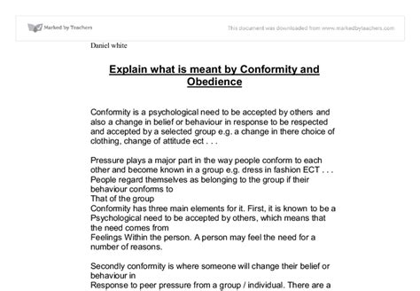 Individuality Vs Conformity Synthesis Essay by Conformity Vs Individualism Essay