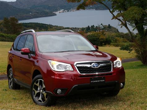 subaru forester red 2013 subaru forester photos informations articles