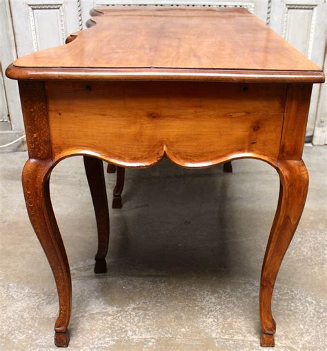 swiss walnut desk in the louis xv style for sale at 1stdibs