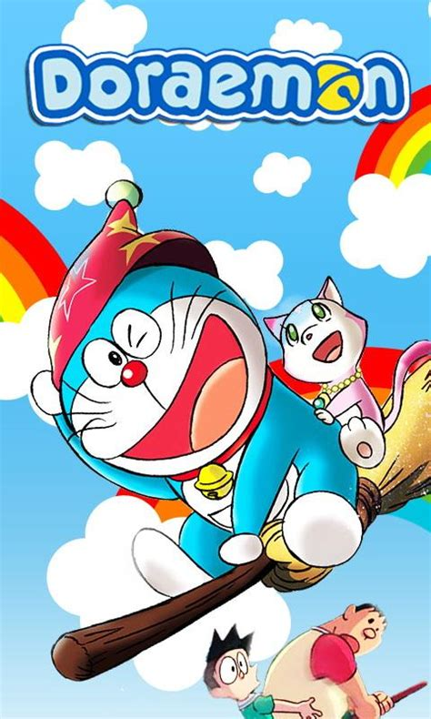 wallpaper doraemon androit doraemon wallpaper android apps games on brothersoft com