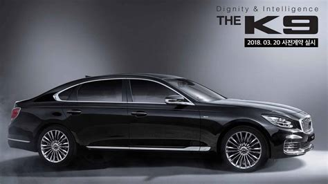 How Much Is A Kia K900 by 2019 Kia K900 K9 Facelift Teaser Shows New Headlights