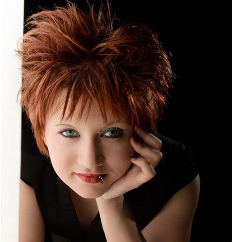 medium length spiky haircuts short spiky haircuts for women