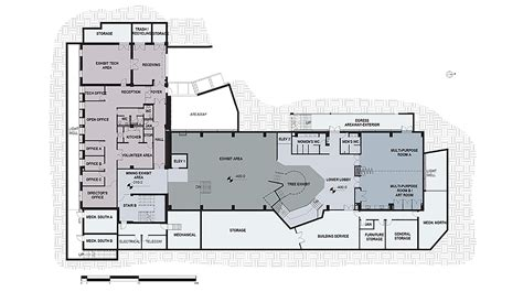 Discover The Floor Plan For Gallery Of Muzeiko Children S Science Discovery Center