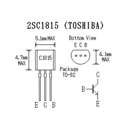 transistor c1815 dung de lam gi con transistor c1815 28 images bipolar junction transistor c1815 to 92 transistores