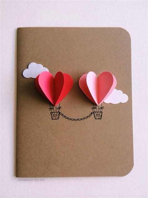 valentines day card for 25 easy diy s day cards