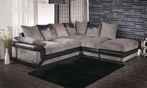 Nm Gmb Set Modera Modern Tosca grande corner sofa groupon goods