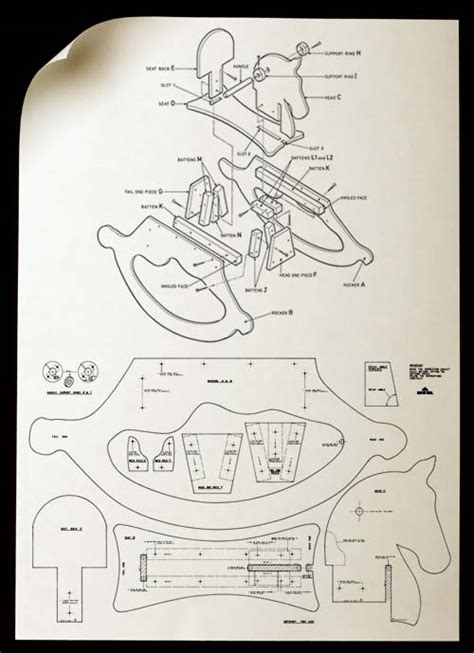 high chair rocking horse desk pattern tony lush projects