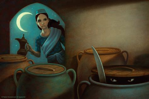 alibaba and the forty thieves morgiana by aguaplano on deviantart